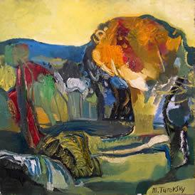 turovsky peinture arles